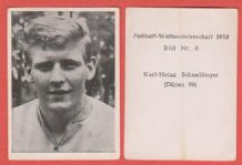 West Germany Karl Heinz Schnellinger SG Duren 99 (8)